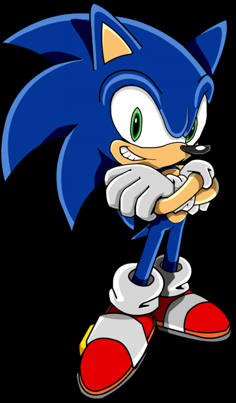 Vector Sonic X Drawings: Sonic Vector Concept Art Unit