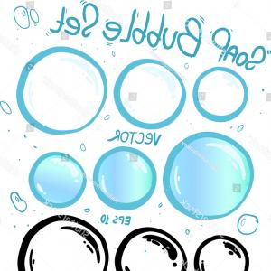 EPS Vector Soap Bubbles: Abstract Background With Bubbles Of The Water Iridescent Soap Bubbles With Reflex Gm
