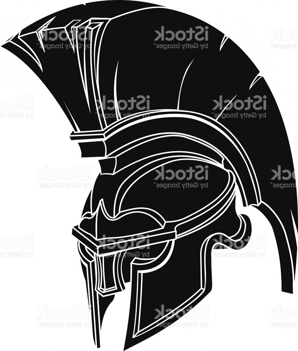 Boba Fett Vector Black And White: Spartan Or Trojan Helmet Gm