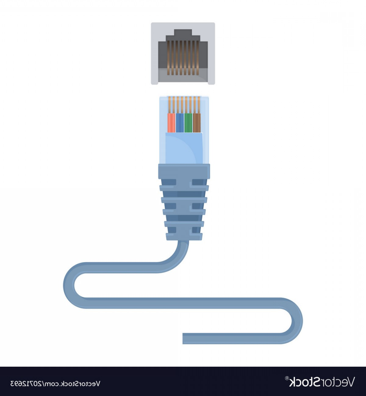 Vector Connector: Special Ethernet Cable Composed Of Connector And Vector