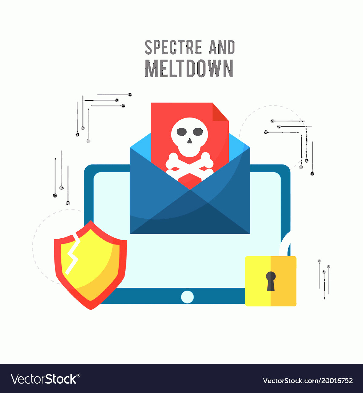 Multi-Vector Attack Plans: Spectre And Meltdown Email Spyware Virus Attack Vector