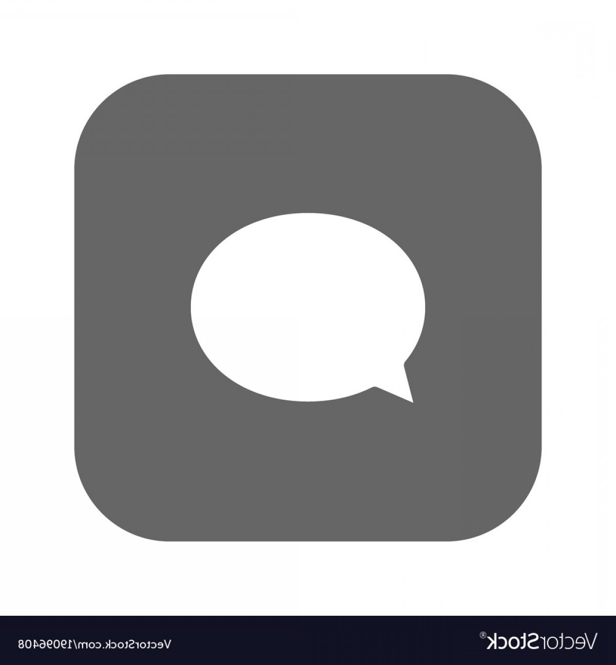 Speech Bubble Icon Vector: Speech Bubble Icon White Icon Vector