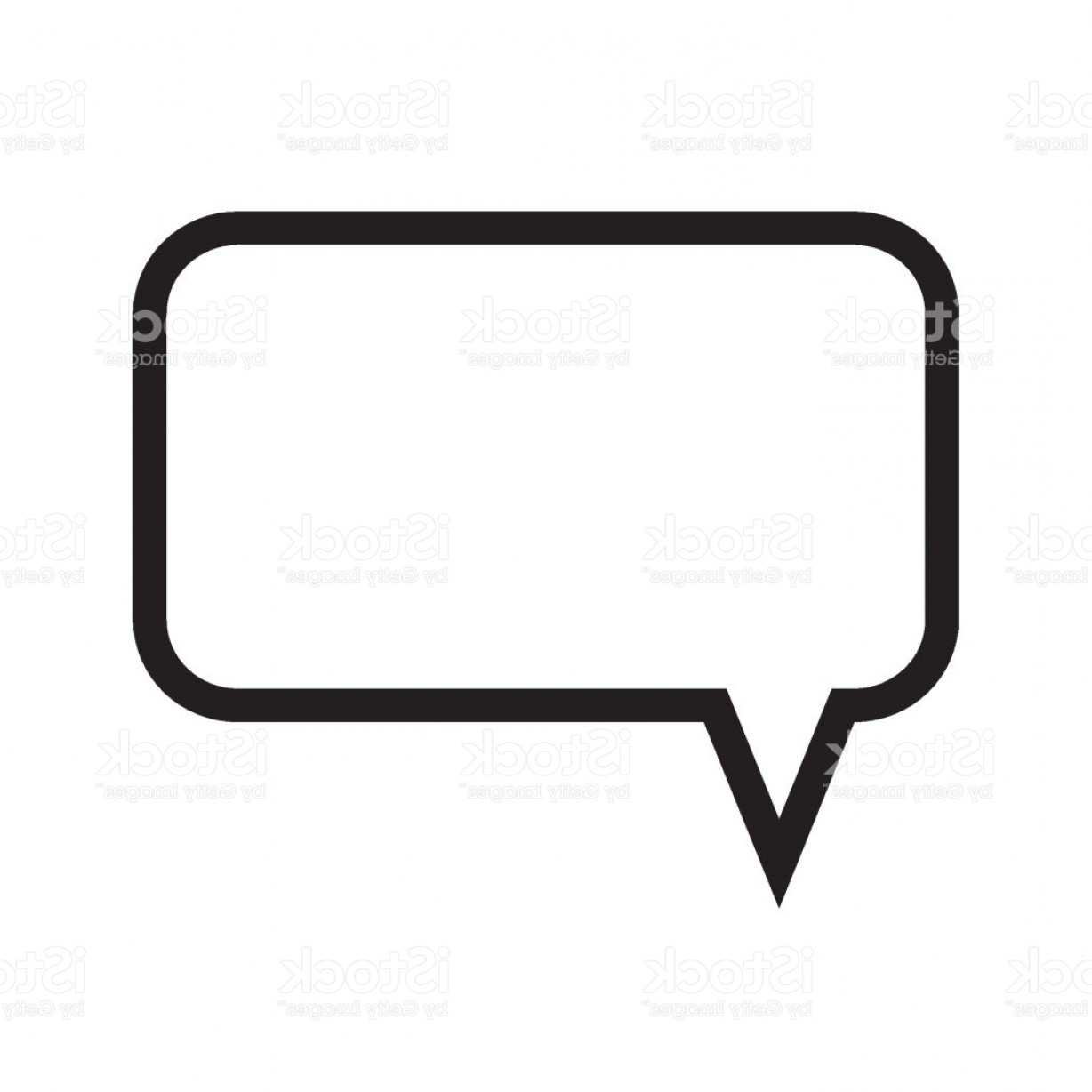Speech Bubble Icon Vector: Speech Bubble Message Box Message Icon Gm