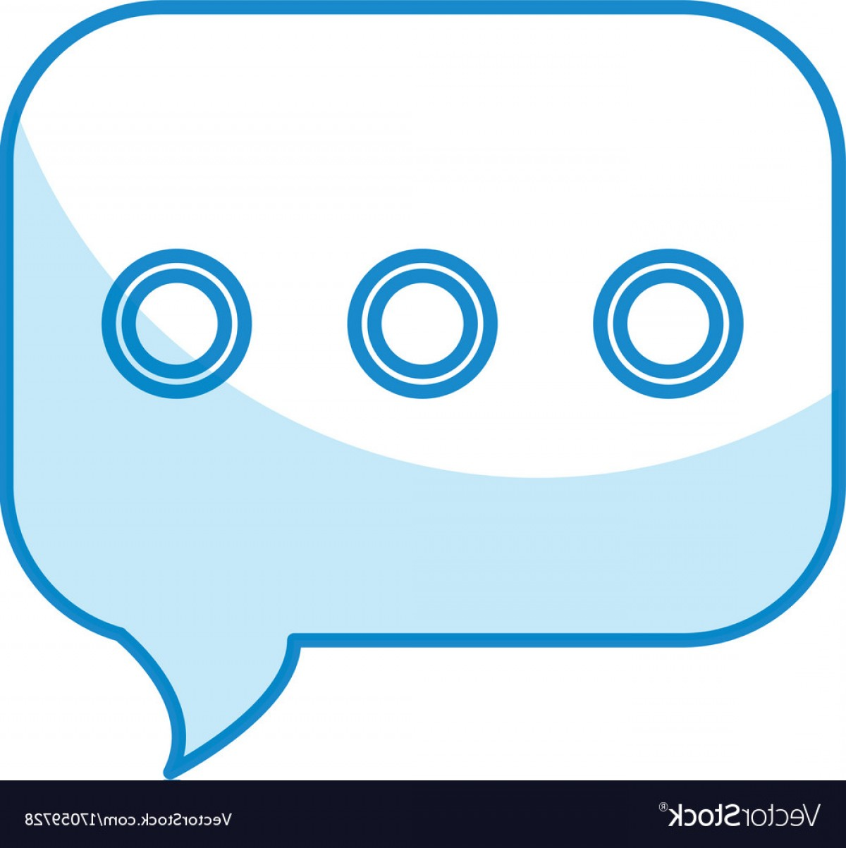 Speech Bubble Icon Vector: Speech Bubble Message Icon Vector