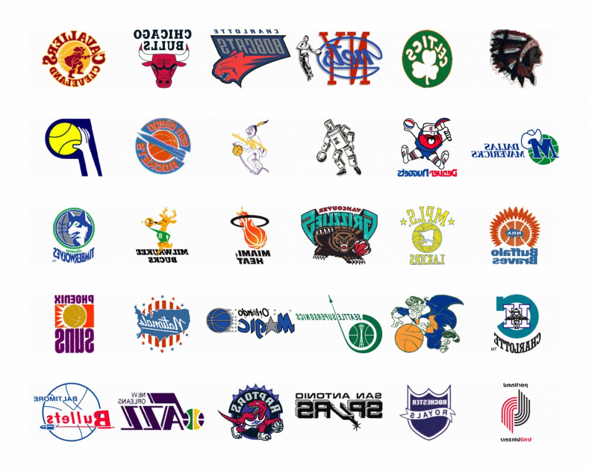 NBA Finals Logo Vector: Spend The Rest Of Your Day Lookat At This Nba Team Logo Evolution Gif
