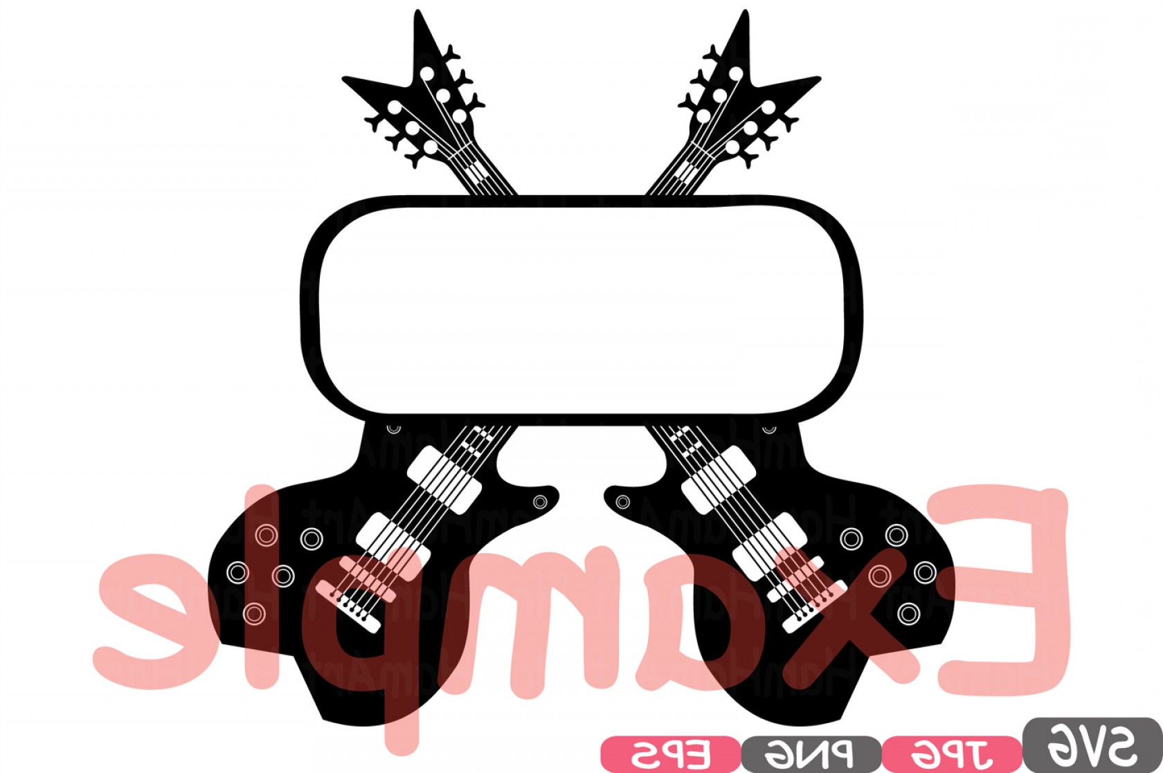 Vinyl Roll Vector: Split Rock N Roll Music Cutting Files Svg Clipart Silhouette Welcome Long Live Rock And Roll Heavy Metal Vinyl Eps Png Vector S