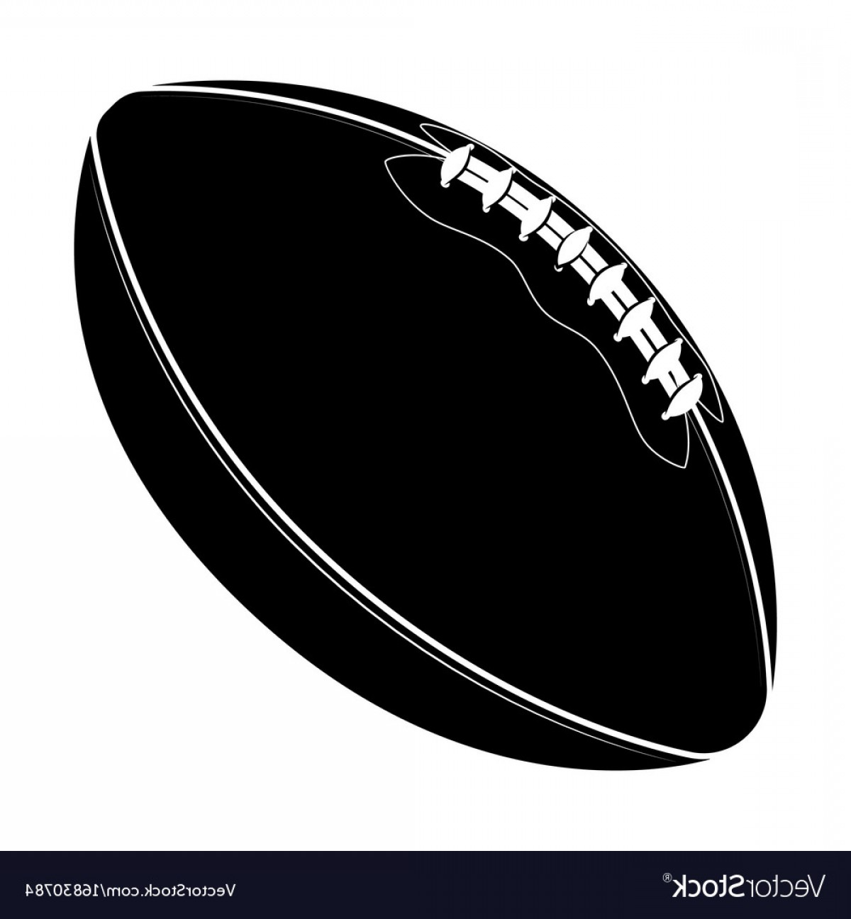 High Res Vector American Football: Sport Equipment Rugby Ball American Football Vector