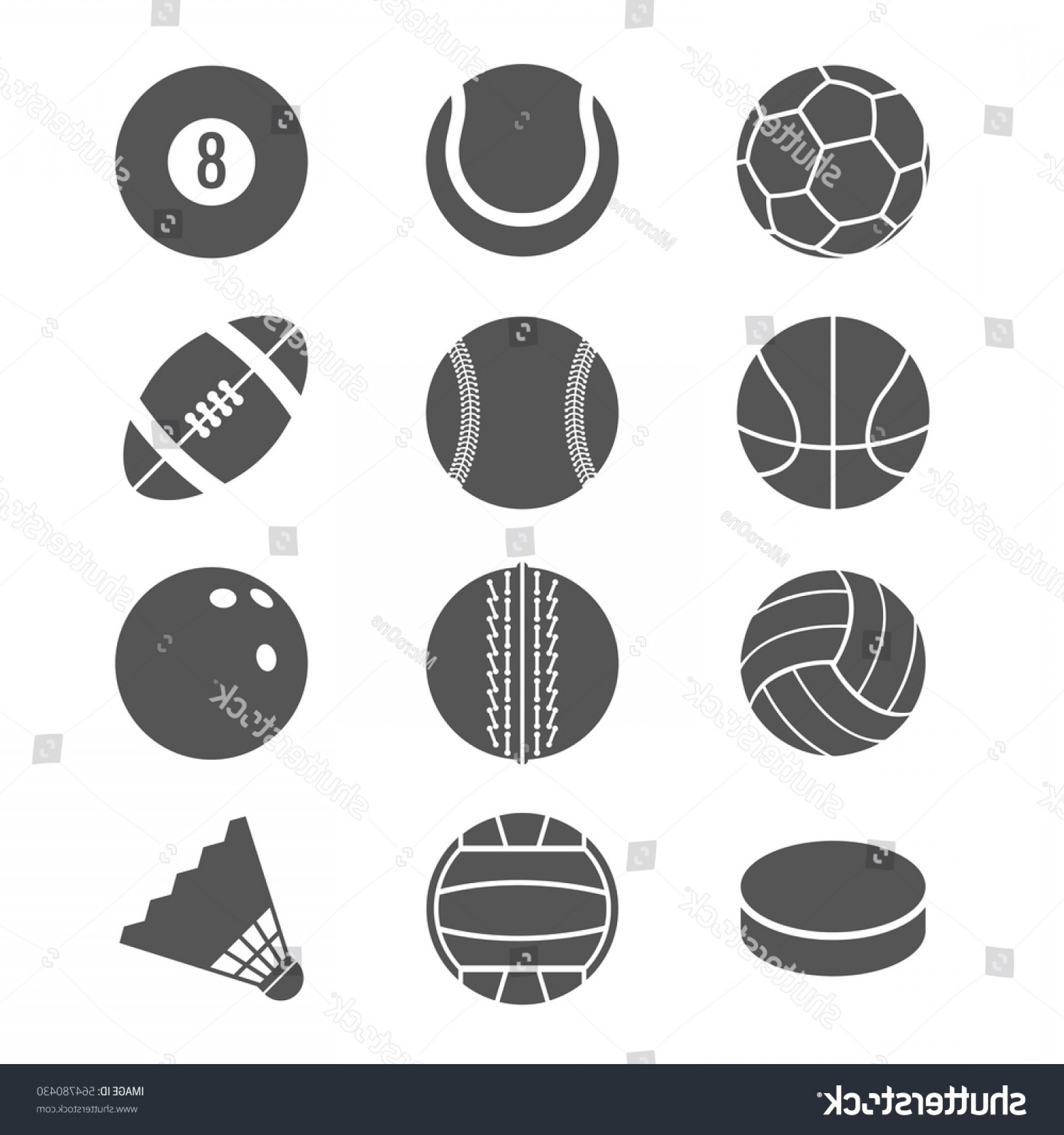 Basketball Seams Vector Clip Art: Sports Balls Football Basketball Tennis Vector