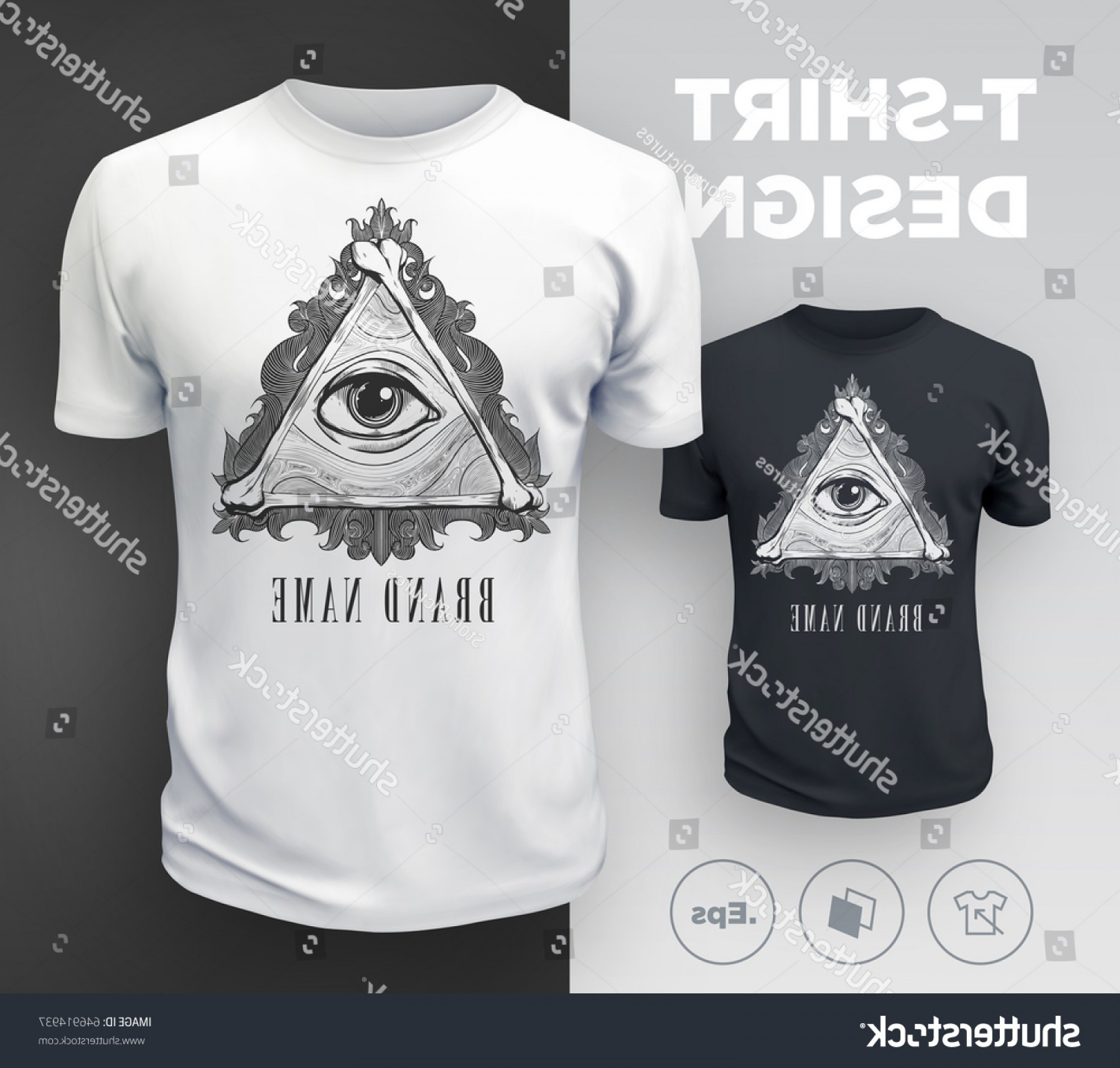 Vector Stamp Shirts: Sspao T Shirt Prints Design In Vector From Stock