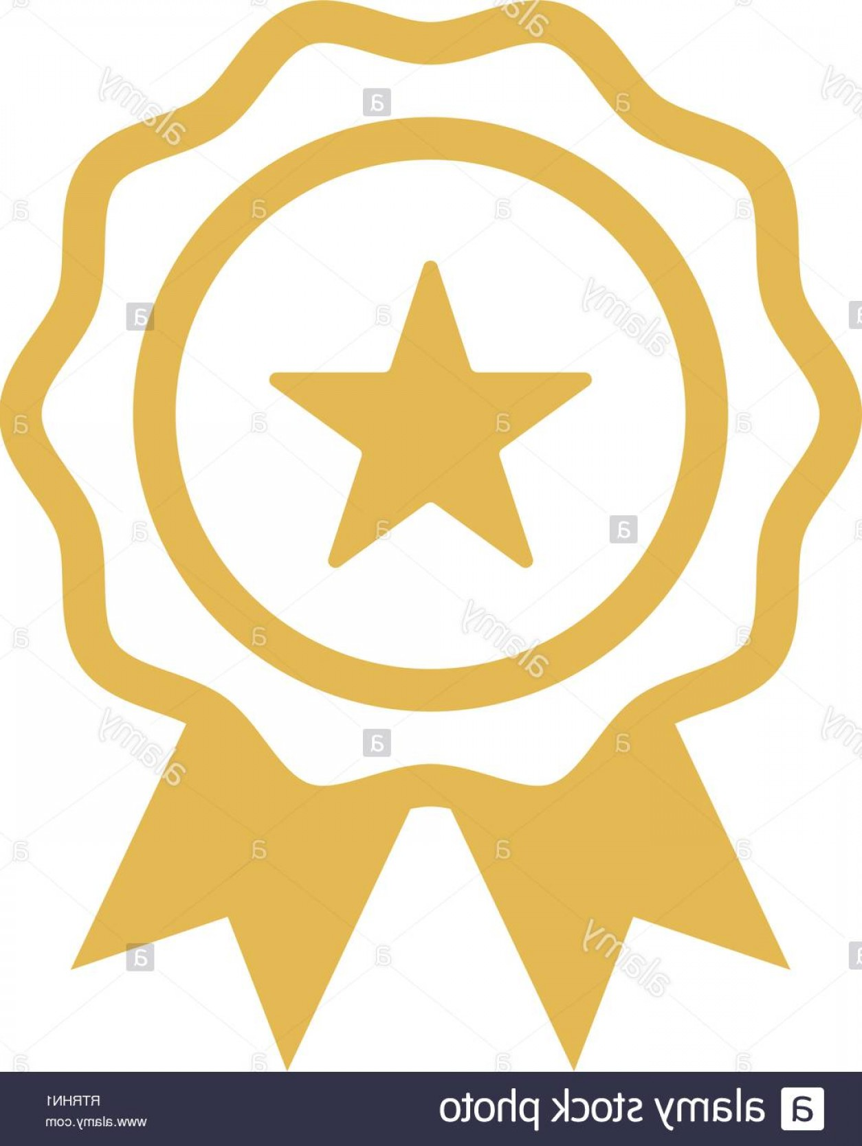 Star Badge Vector: Star Badge Icon Design Template Vector Isolated Image