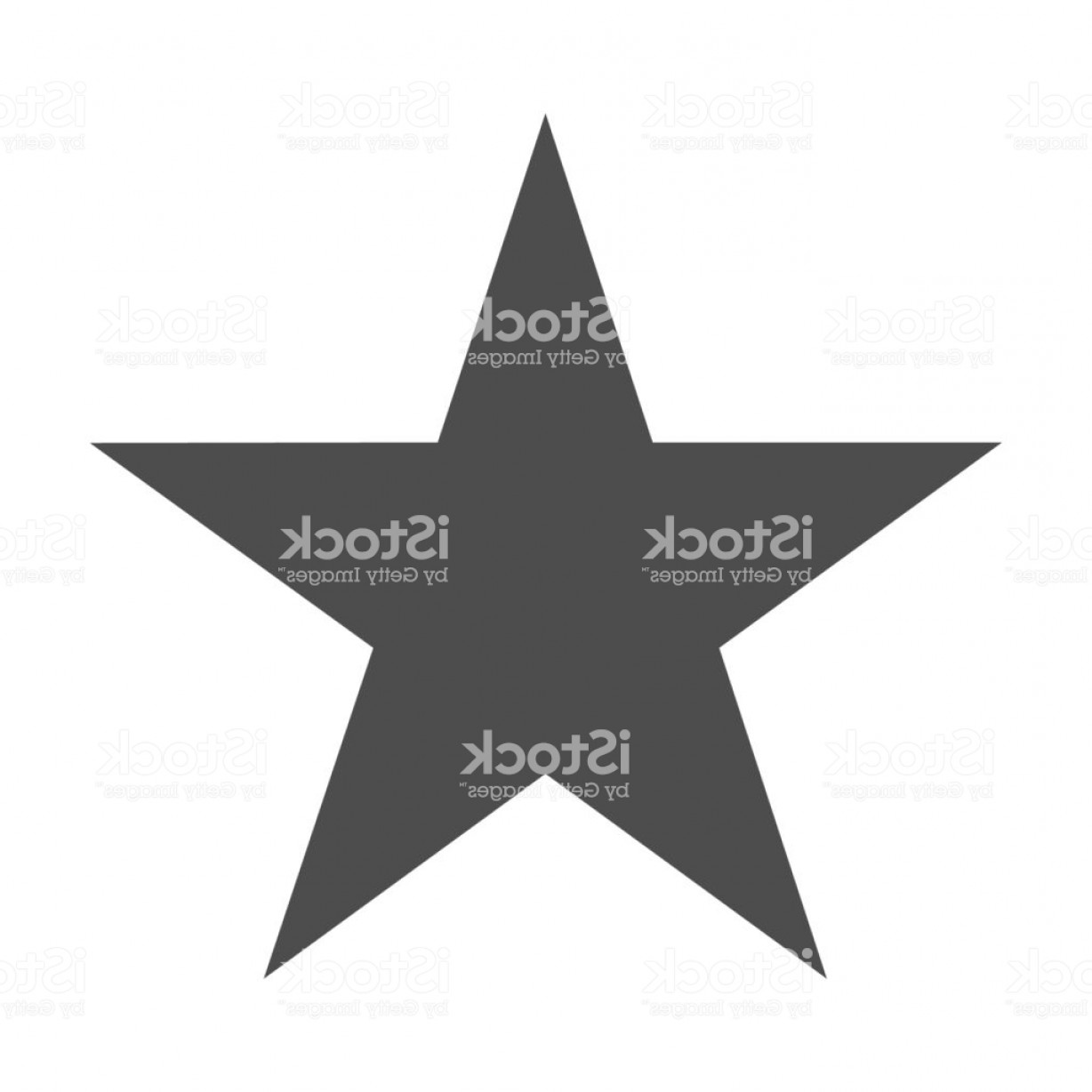 Starburst Icon Vector: Star Icon Vector Classic Rank Isolated Trendy Flat Favorite Design Star Web Site Gm