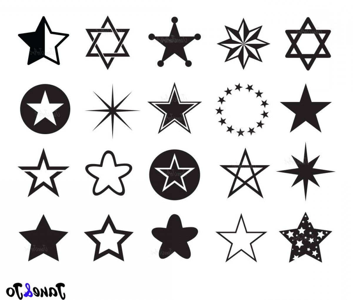 HCS Schools Vector Art: Star Svg Star Clipart Star Svg Dxf Png