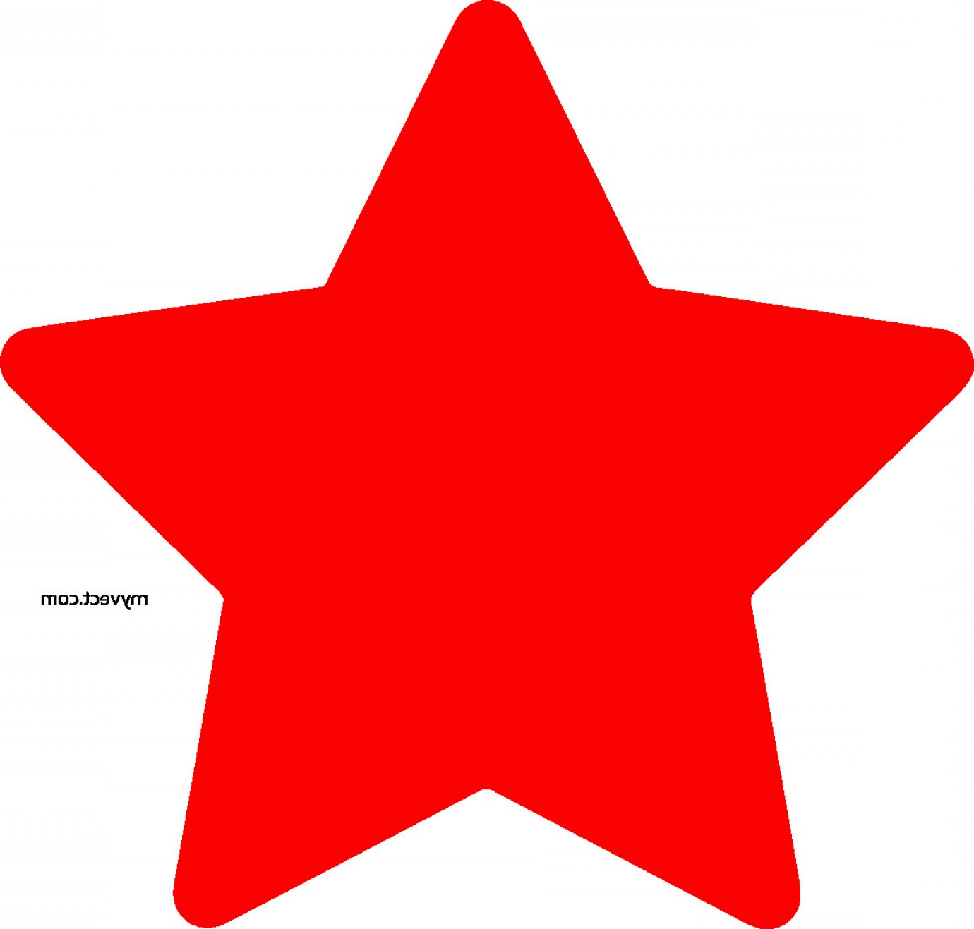 4 Point Nautical Star Vector: Star Vector Awesome Red Star Vector Myvect