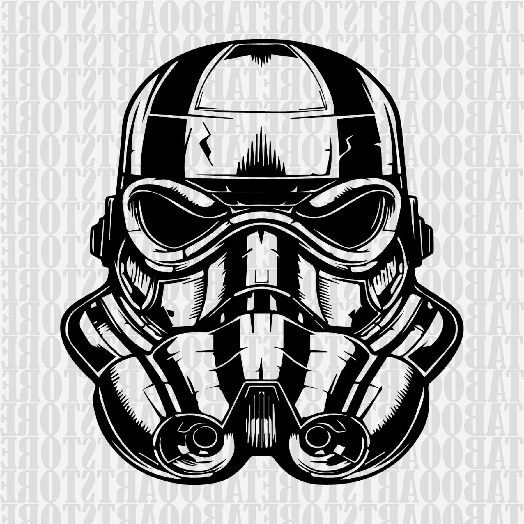 Boba Fett Silhouette Vector: Star Wars Clipart Stormtrooper Svg Star