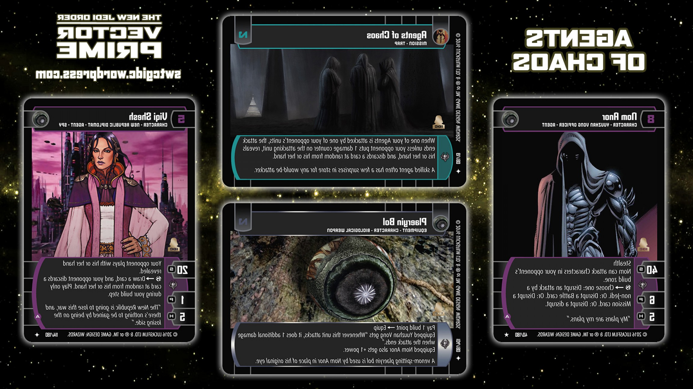 Star Wars Republic Vector: Star Wars Trading Card Game Vector Prime Wallpaper Agents Of Chaos