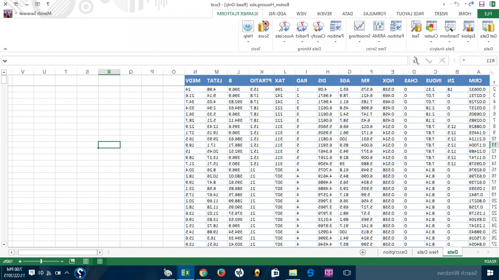 Excel Matrix To Vector: Started Machine Learning Ms Excel Xl Miner
