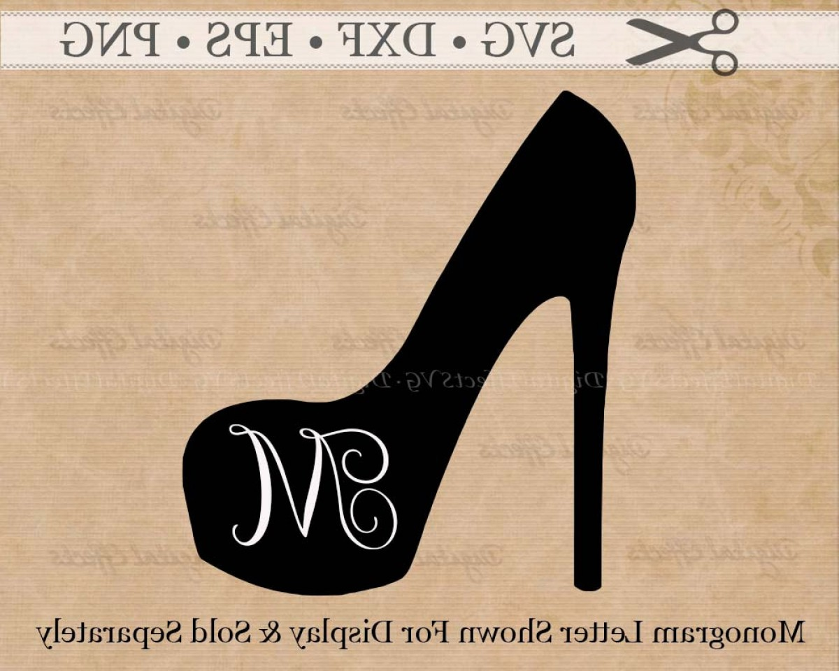 Silhouette Hee High Vector Lsitleetios: Stiletto Svg Png Dfx Eps Stiletto Shoe