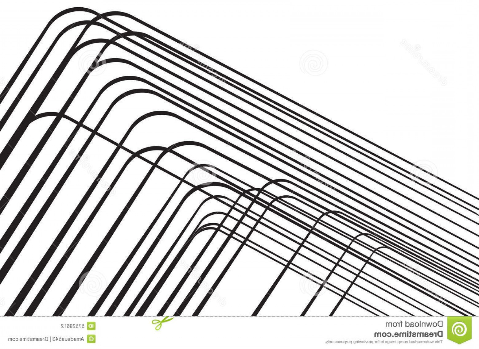 Black Abstract Lines Vector: Stock Illustration Abstract Black Lines Background Design Elements Image