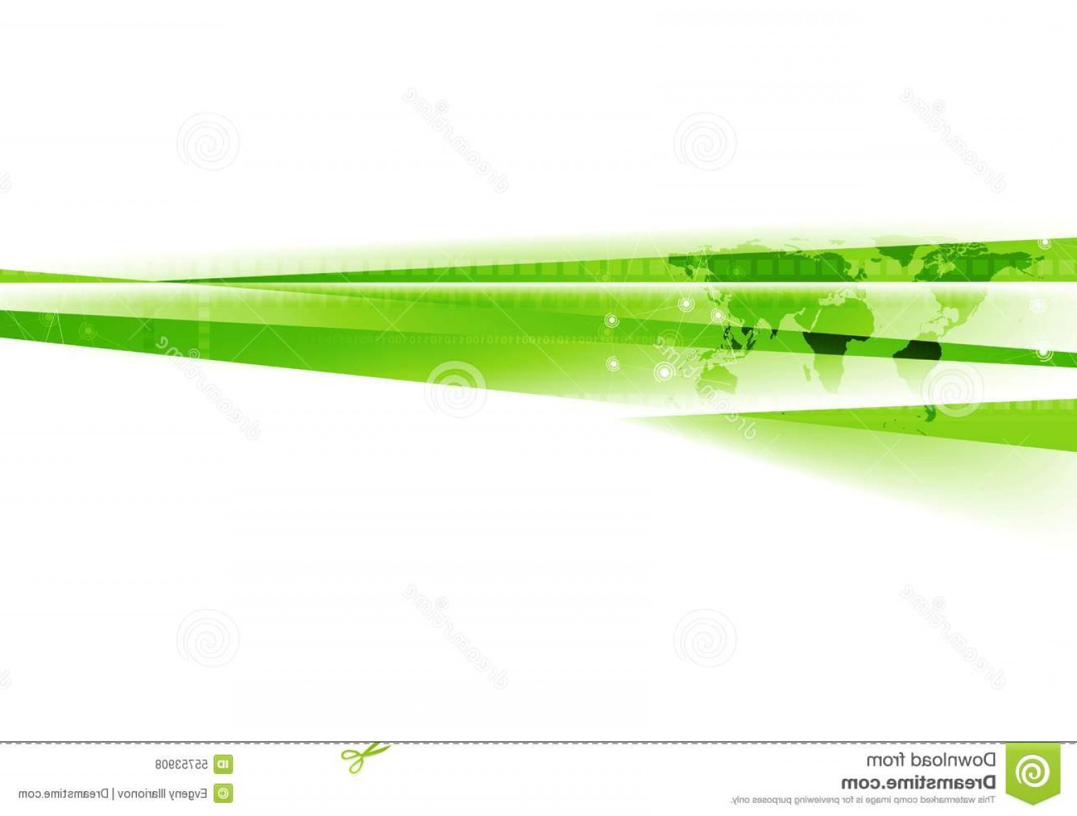 Green And White Vector: Stock Illustration Abstract Green White Tech Corporate Background Vector Design Image