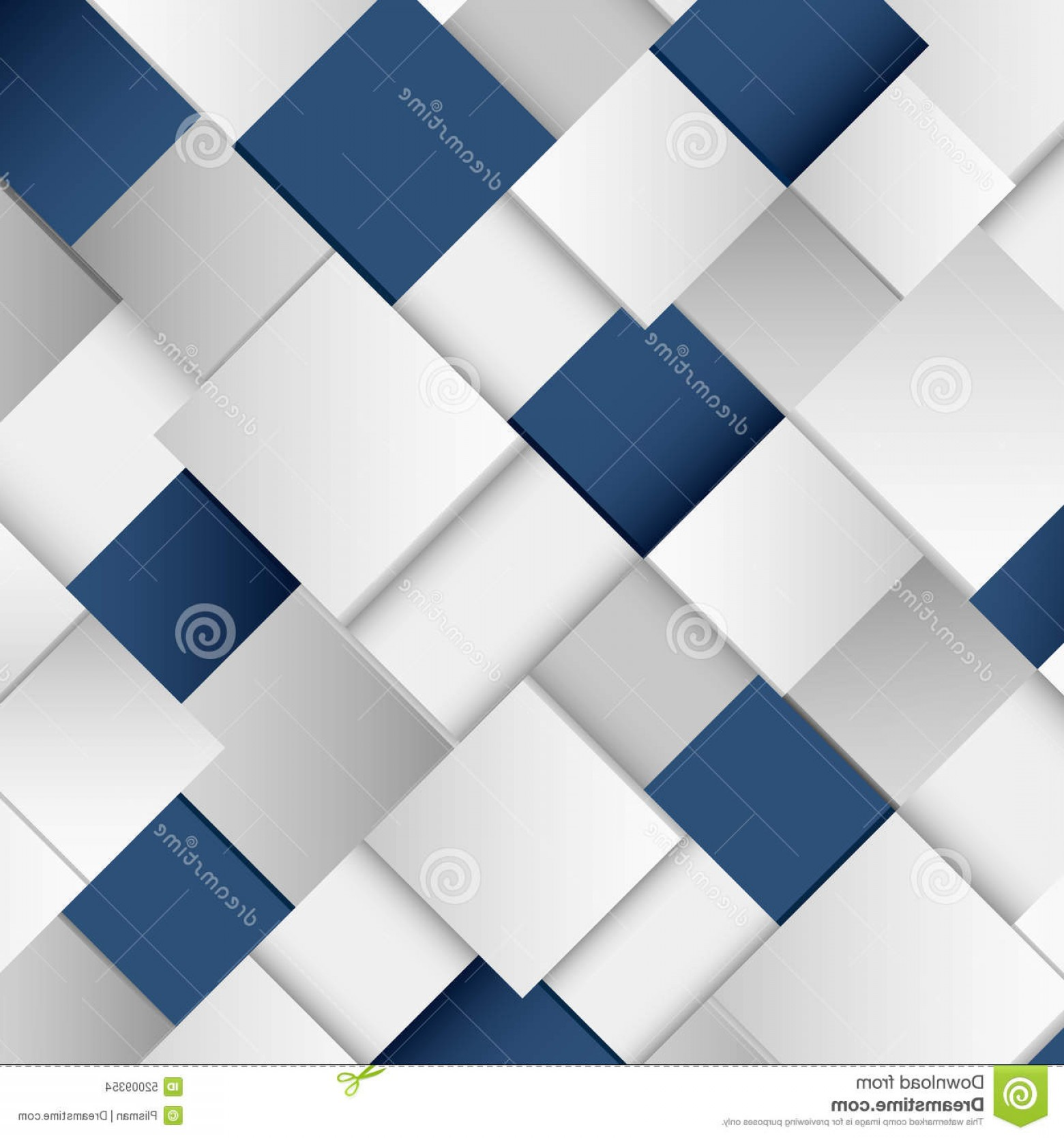 Blue With White Background Vector: Stock Illustration Abstract White Blue Square Background Vector Eps Image