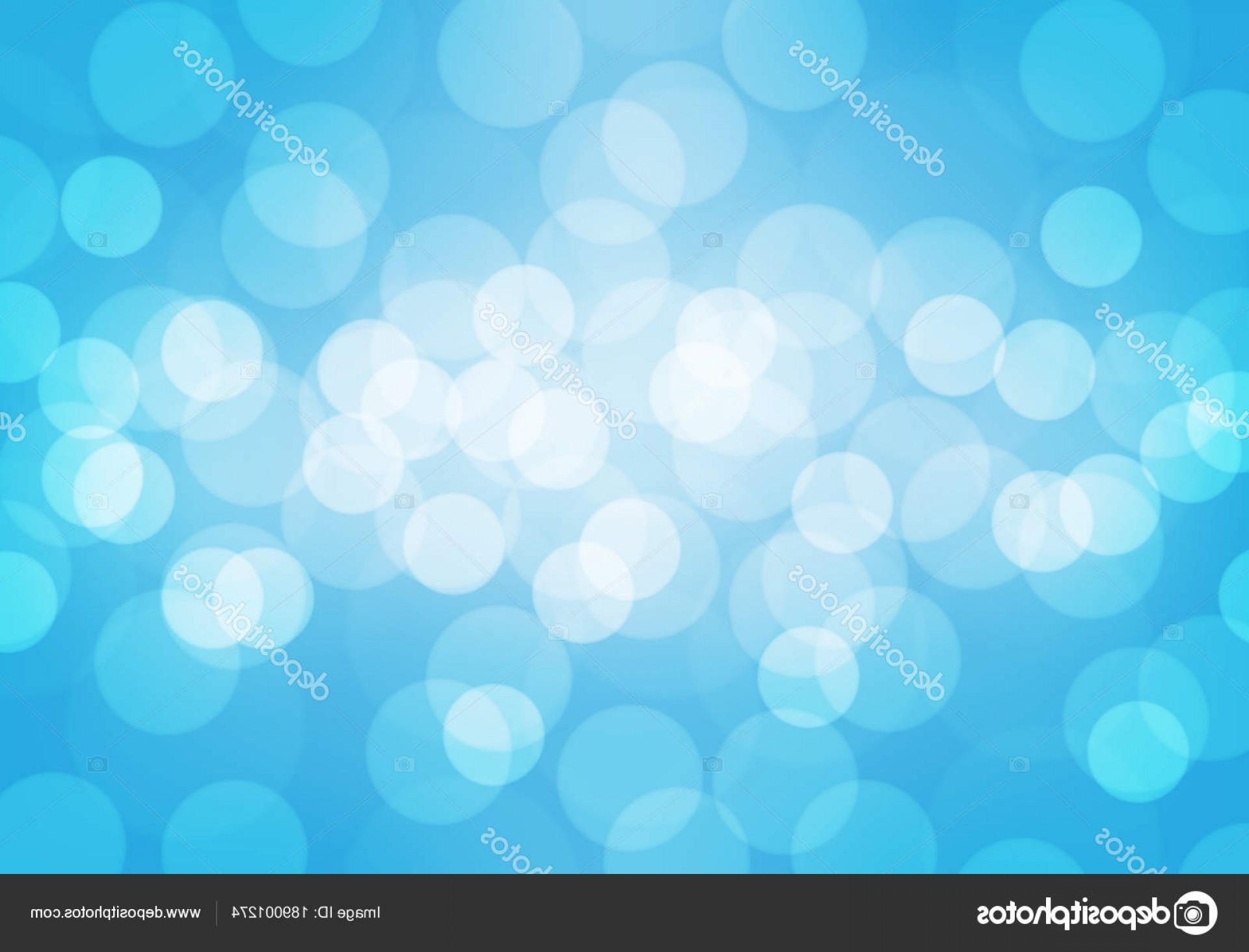 Vector Blue Luxury: Stock Illustration Abstract White Bokeh Blur Soft