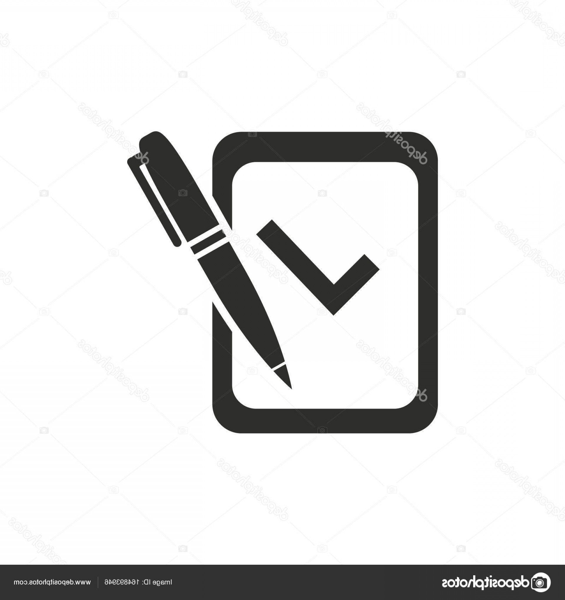 Vector Application Form: Stock Illustration Application Form Vector Icon