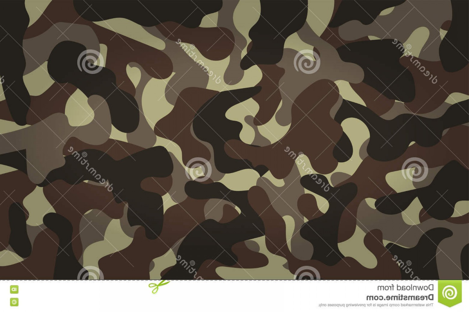 Army Camouflage Pattern Vector: Stock Illustration Army Camouflage Pattern Khaki Color Vector Illustration Eps Image