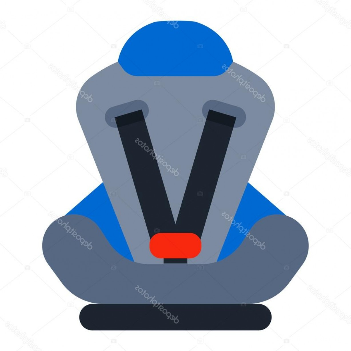 Vector Baby Seat: Stock Illustration Baby Seat Vector Illustration