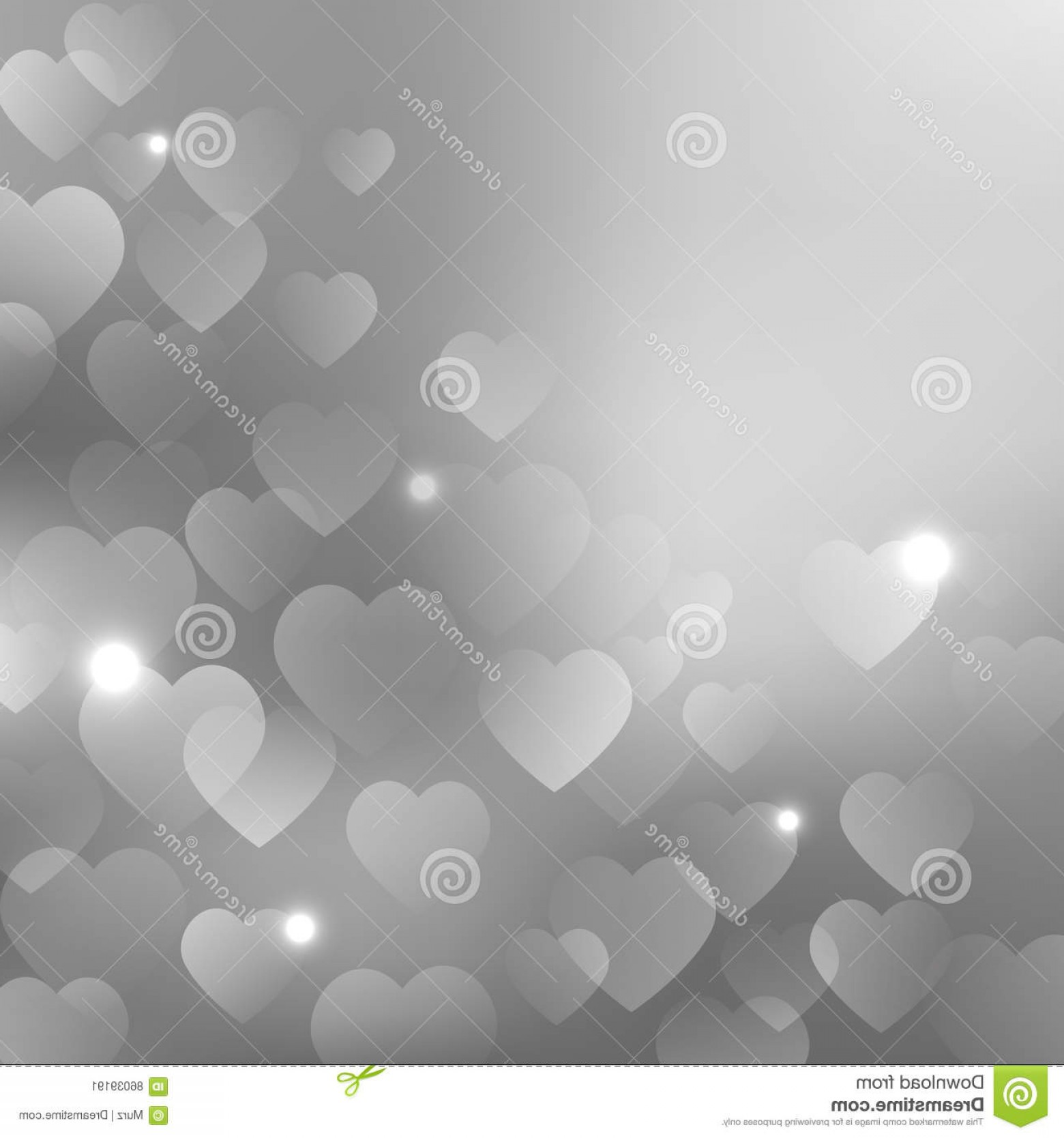 Silver Heart Vector: Stock Illustration Background Silver Hearts Grey Vector Design Your Valentine S Day Cards Flyers Brochures Posters Banners Etc Image