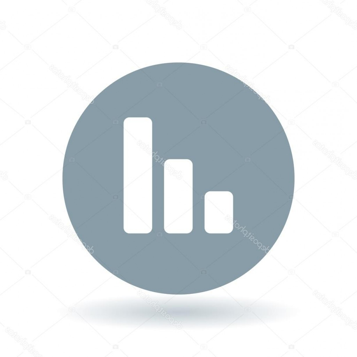 Bar Graph Icon Vector: Stock Illustration Bar Graph Icon Chart Success