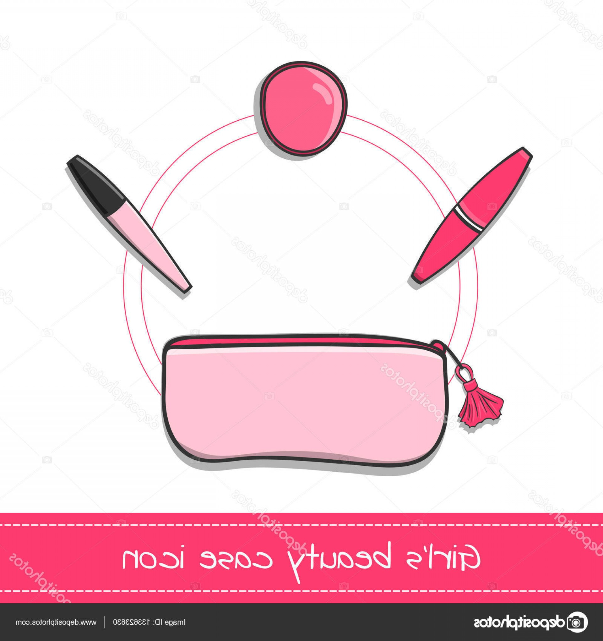 Powder Coating Vector Art: Stock Illustration Beauty Case Icon Vector Isolated