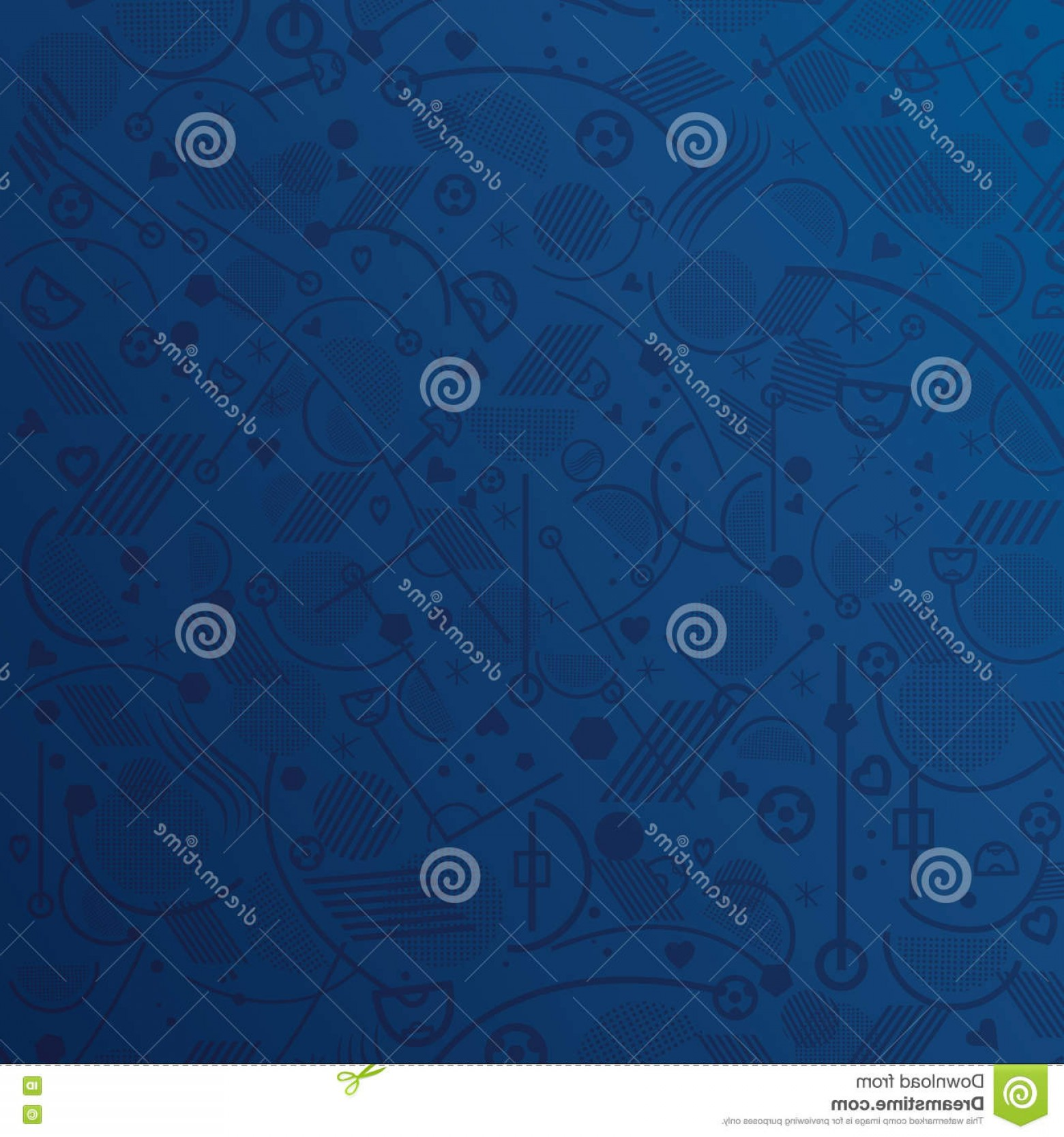 Soccer Blue Background Vector Graphics: Stock Illustration Blue Wallpaper Abstract Geometric Background Soccer Vector Illustration Art Print Web Design Image