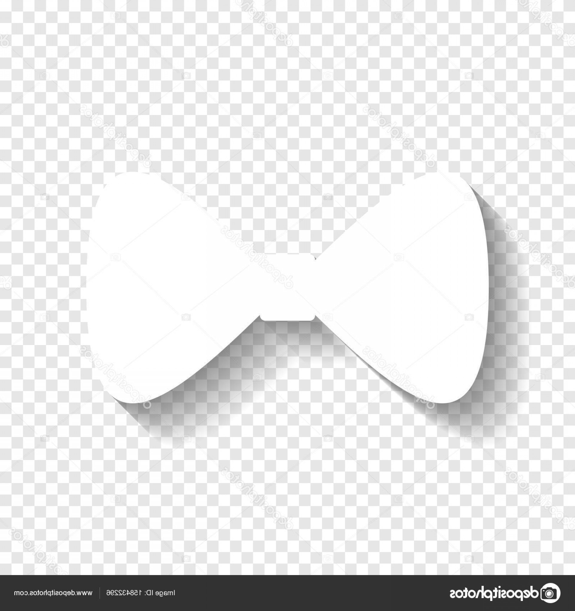 Bow Tie Vector Graphic Transparent: Stock Illustration Bow Tie Icon Vector White