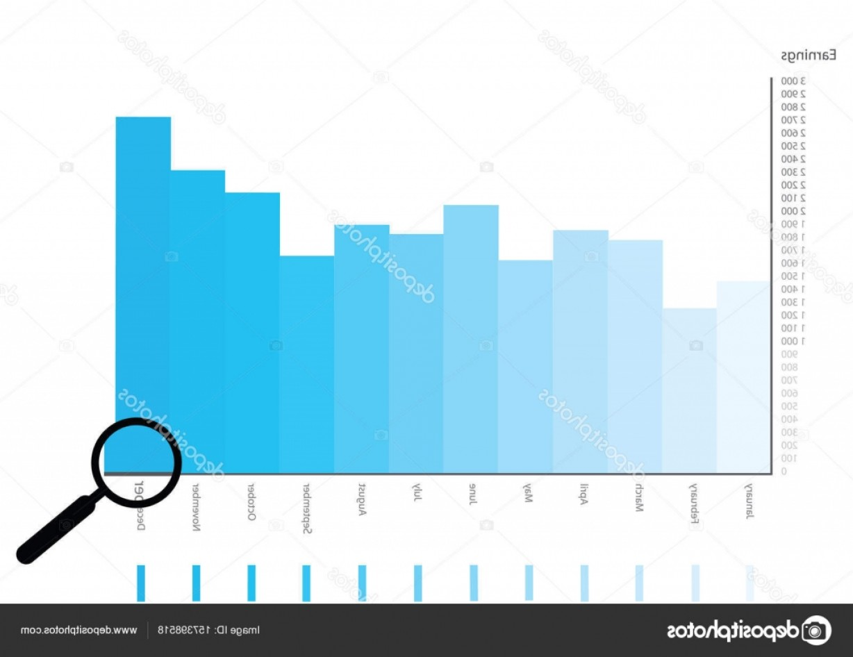 Graphing Vectors 2 1: Stock Illustration Bright Vector Columns Graph