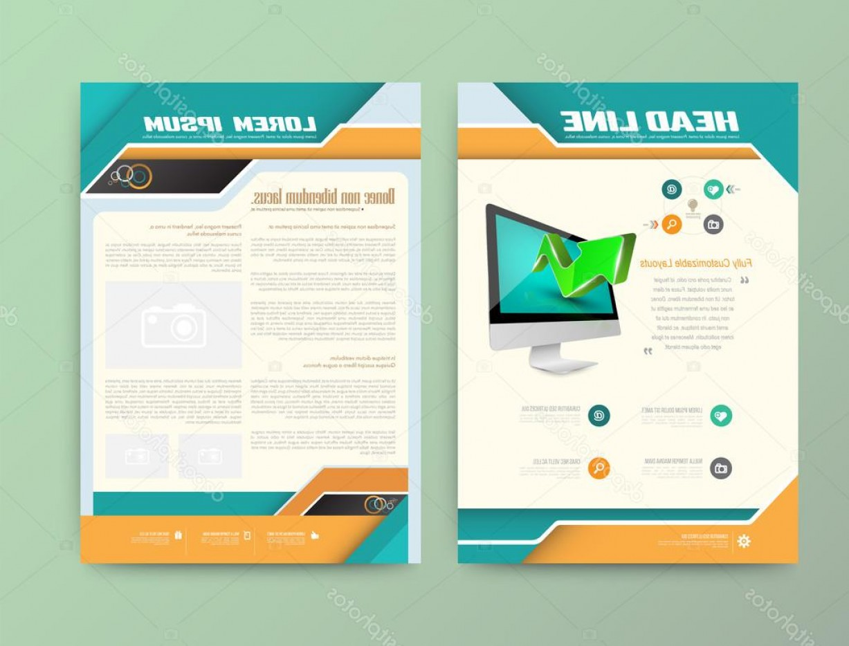 Vector Brochure Cover Designs: Stock Illustration Brochure Cover Design Templates Abstract
