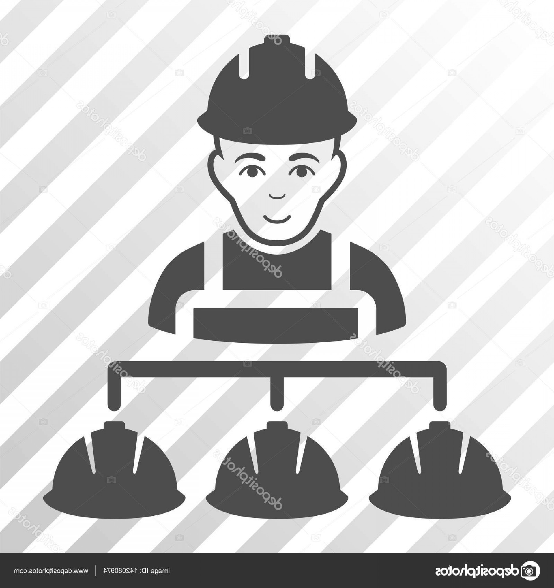 Vector Constructor: Stock Illustration Builder Management Vector Icon