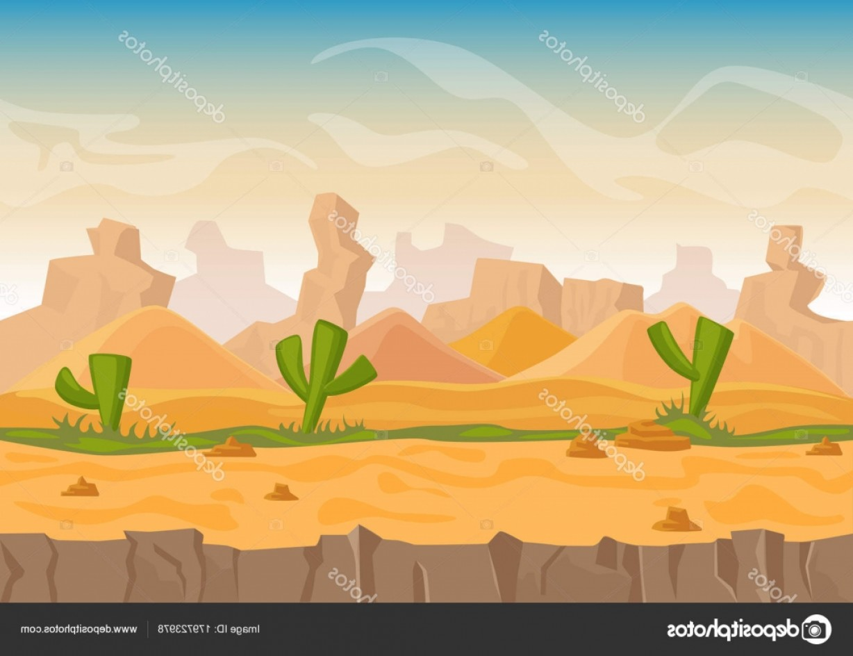 Vector Stone Landscaping: Stock Illustration Cartoon Sand And Stone Rocks