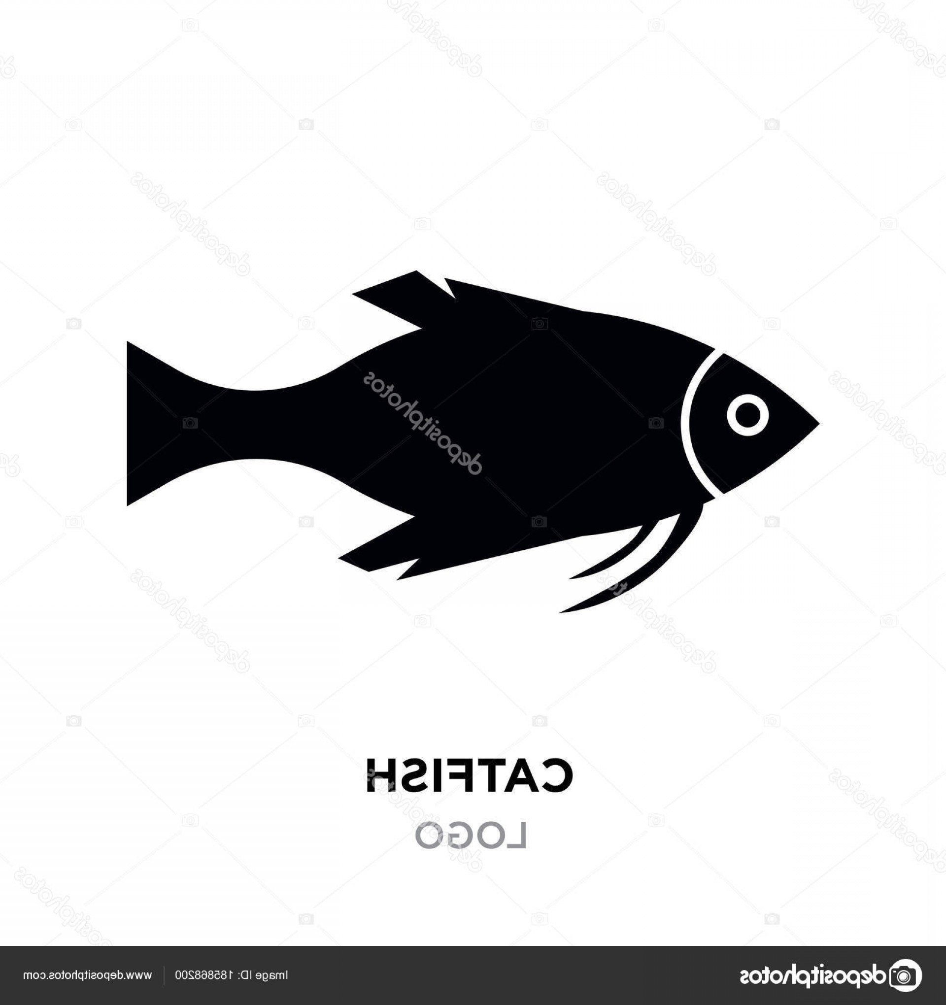 Catfish Vector Logo: Stock Illustration Catfish Logo Black Catfish Fish