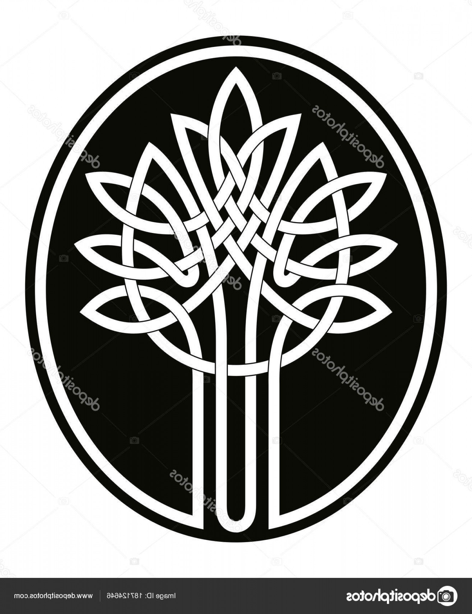 Celtic Tree Vector: Stock Illustration Celtic Tree Of Life