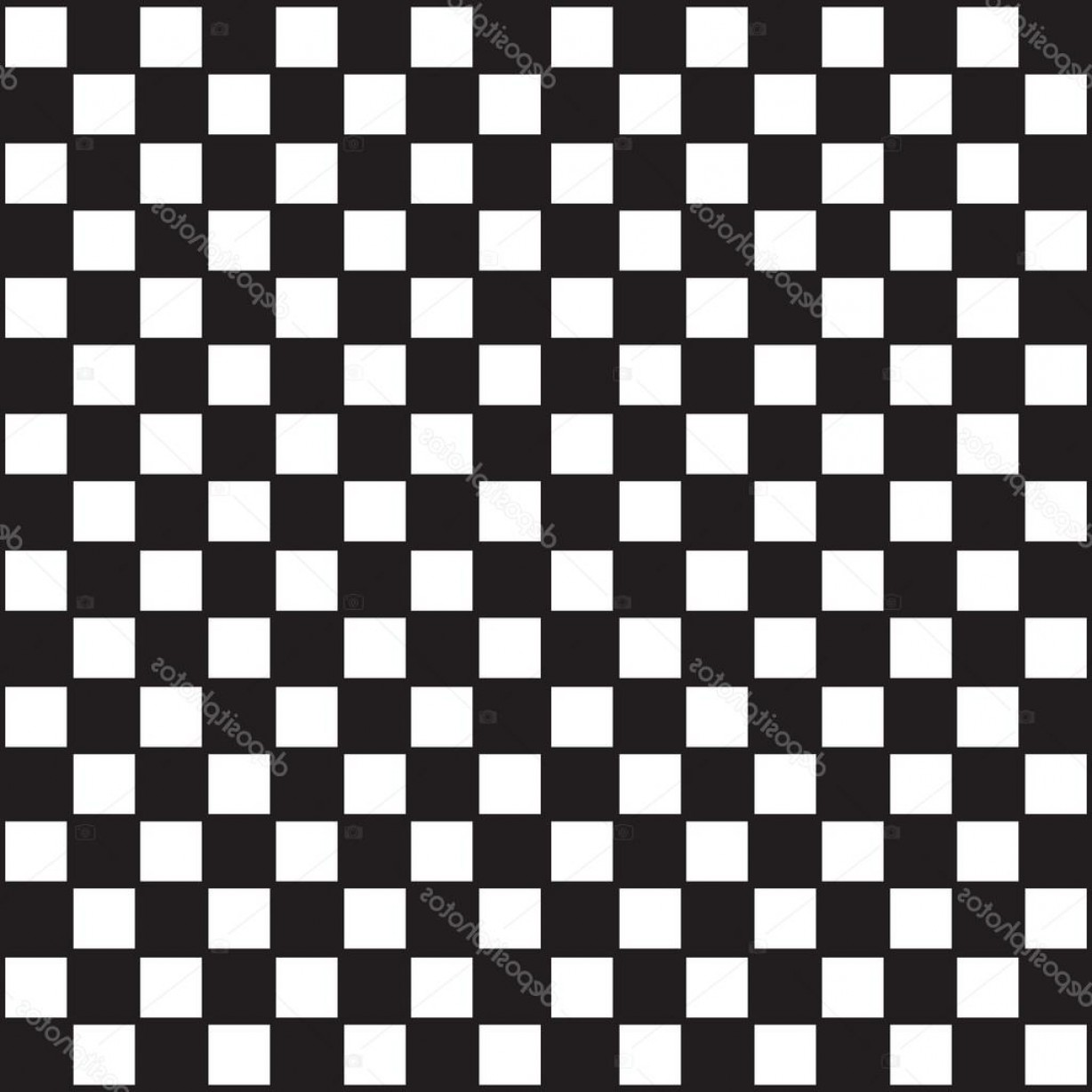 Checker Vector Template: Stock Illustration Checkered Abstract Background Checker Chess