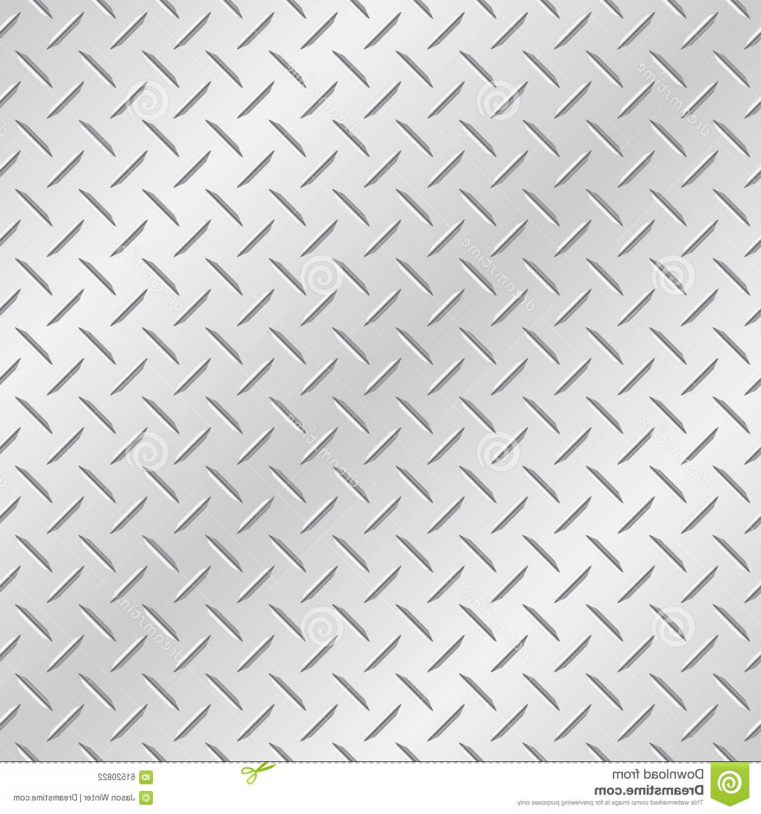 Tread Plate Vector: Stock Illustration Chequer Plate Metal Background Diamond Tileable Vector Wallpaper Repeats Left Right Up Down Image