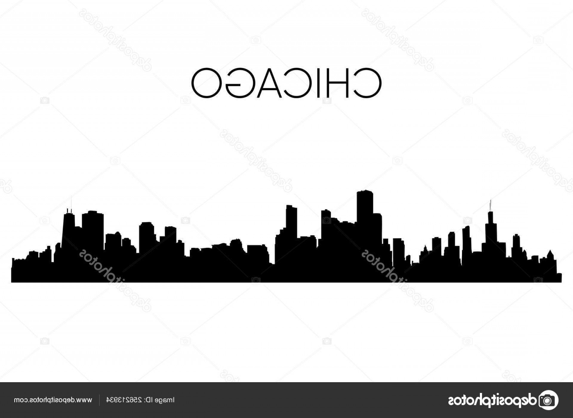 Wicked Boston Skyline Silhouette Vector: Stock Illustration Chicago Skyline Silhouette Vector Illustration