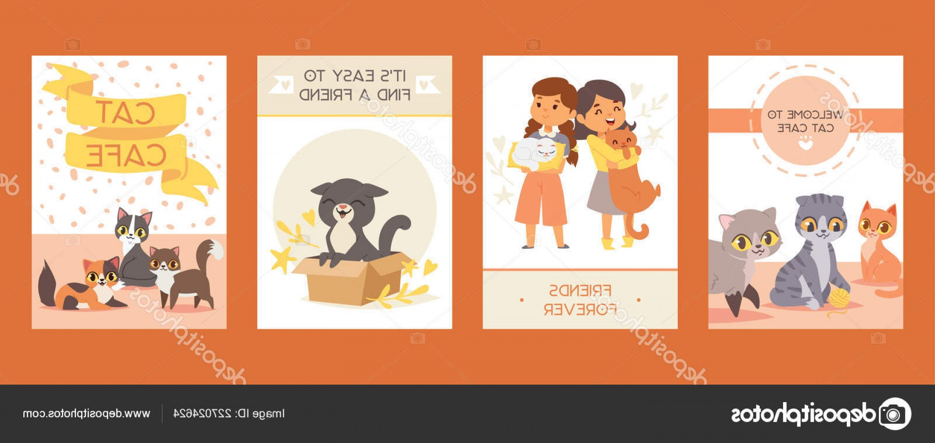 Adoption Art Animal Vector: Stock Illustration Children With Pets Adopt Friendship
