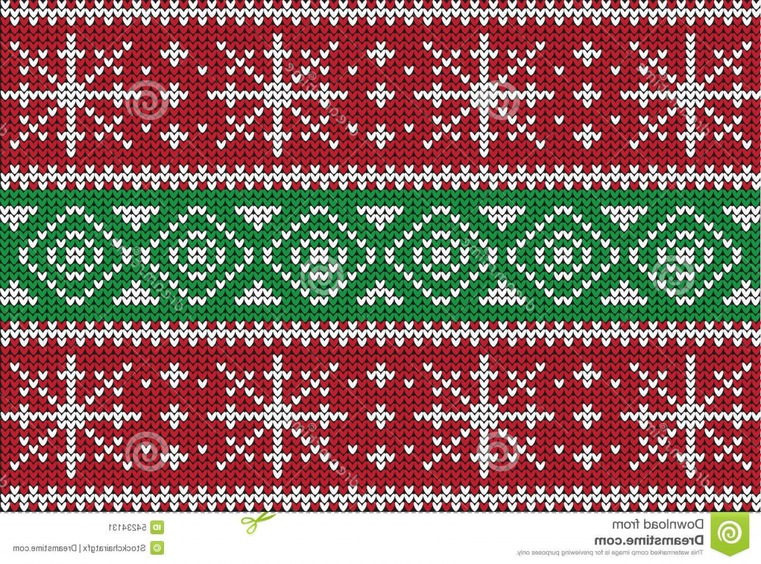 Christmas Sweater Design Vector: Stock Illustration Christmas Sweater Design Seamless Pattern Vector Image