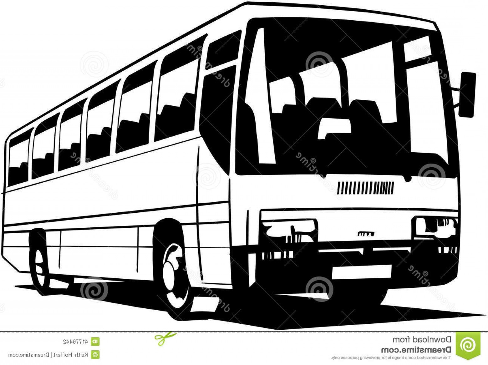 Pic Bus Vector Format: Stock Illustration City Bus Cartoon Vector Clipart Created Adobe Illustrator Eps Format Illustration Use Web Print Image