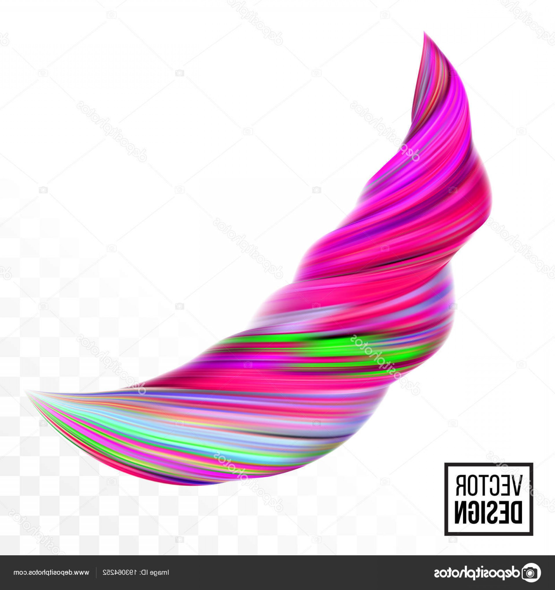 Vector Abstract 3D: Stock Illustration Color Paint Background Vector Abstract