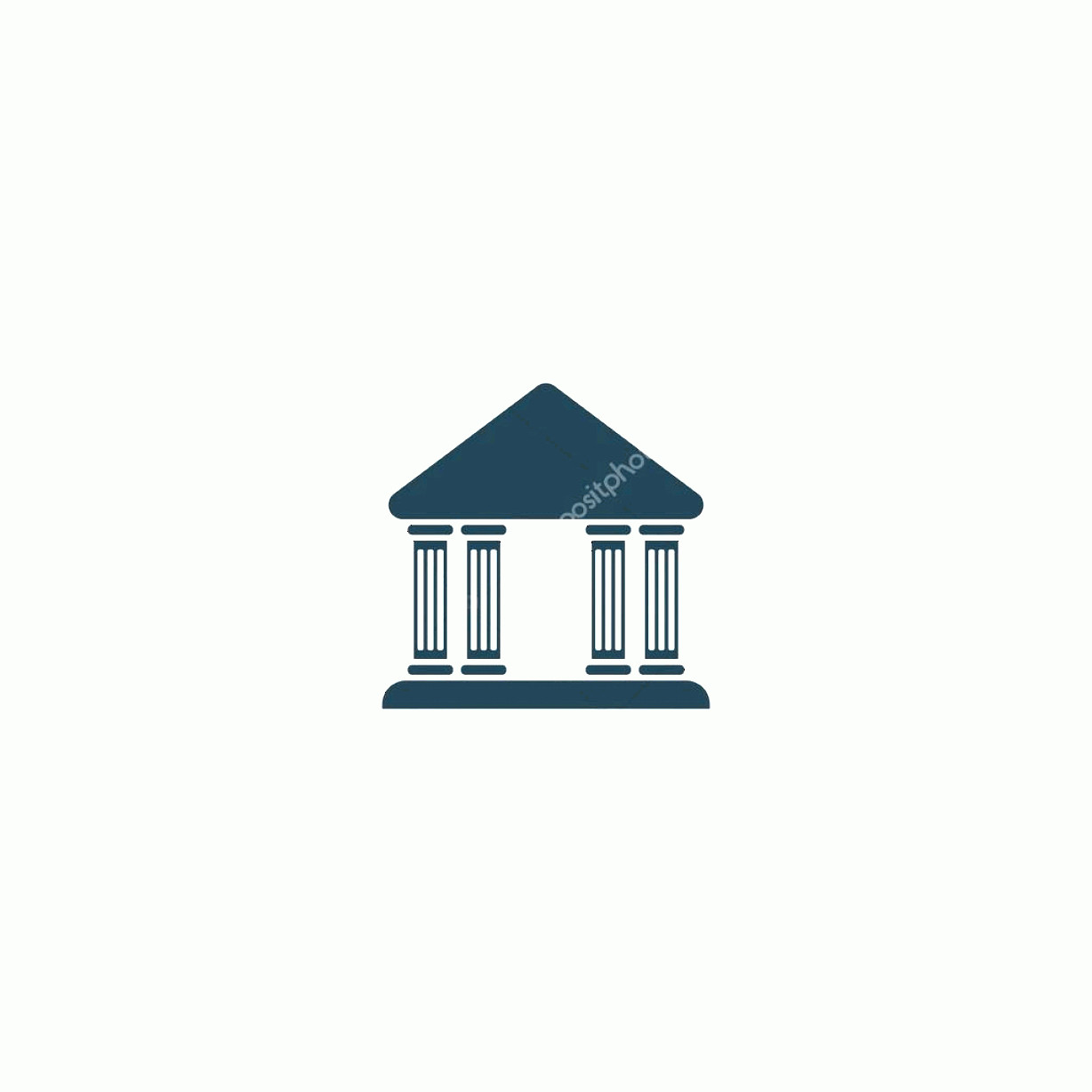 Court Building Vector: Stock Illustration Court Building Vector Icon