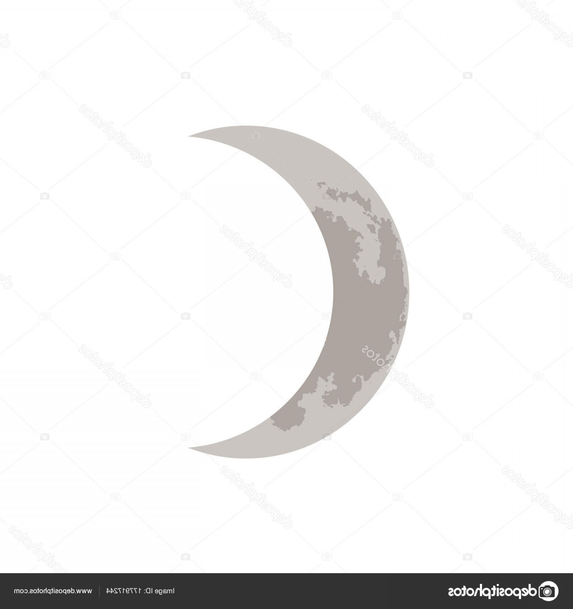 Cresent Moon Vector: Stock Illustration Crescent Moon Vector Illustration