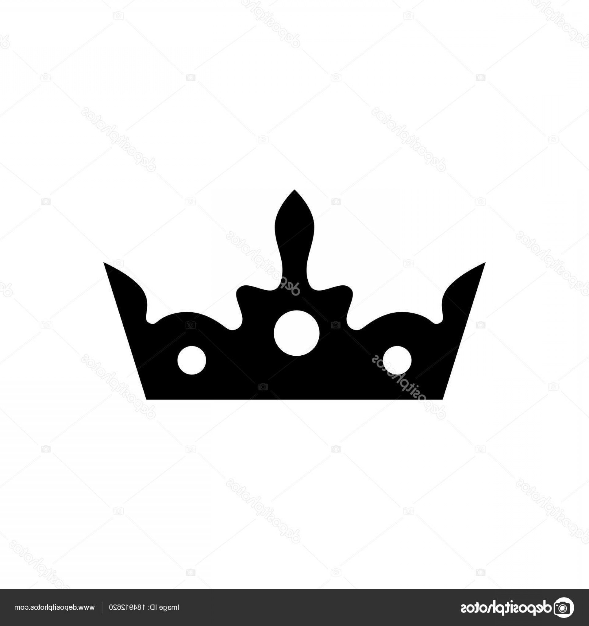 Crown Vector Clip Art: Stock Illustration Crown Vector Icon King Hat