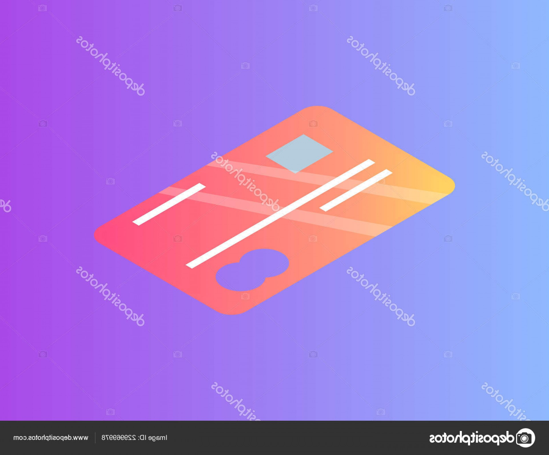 MasterCard Credit Card Logo Vector: Stock Illustration Debit Or Credit Card With